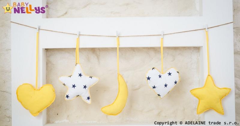 Baby Nellys Sada dekorací Stars be Love č. 9