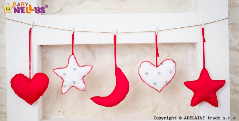 Baby Nellys Sada dekorací Stars be Love č. 10