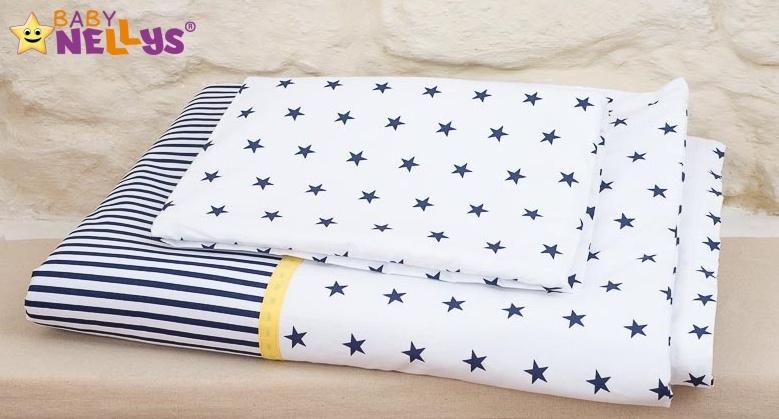 Baby Nellys Mantinel s povlečením Stars be Love č. 9