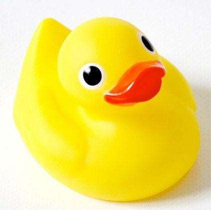 Hencz Toys Kačenka  do koupele - žlutá, 1 ks