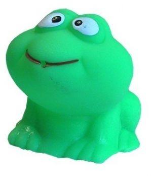 Žabka  do koupele - zelená