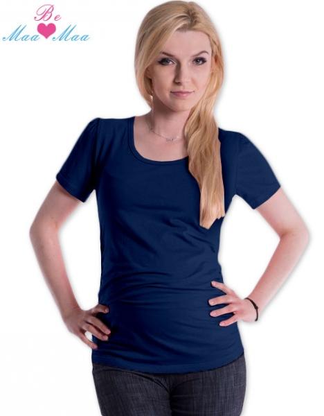 Be MaaMaa Triko JOLY bavlna nejen pro těhotné - navy jeans