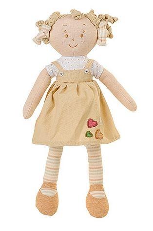 Látková panenka EKO Lily Baby Ono - béžová