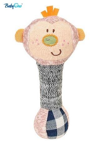 BabyOno Edukační hračka - pískací - OPIČKA malá