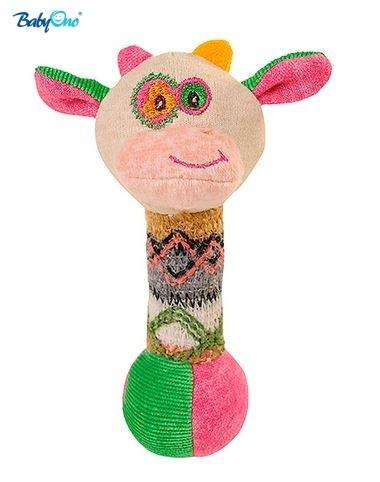 Edukační hračka Baby Ono - pískací - KRAVIČKA malá