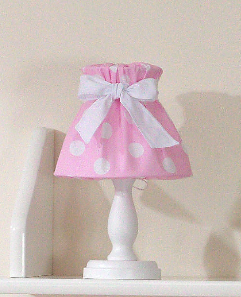 Mamo Tato Noční lampička - retro růžové