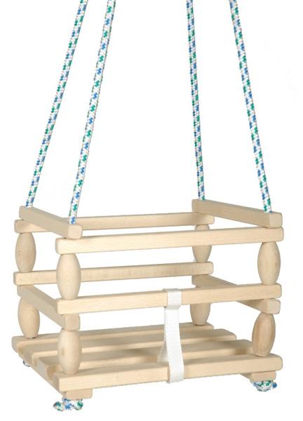Houpačka Baby, dřevěná