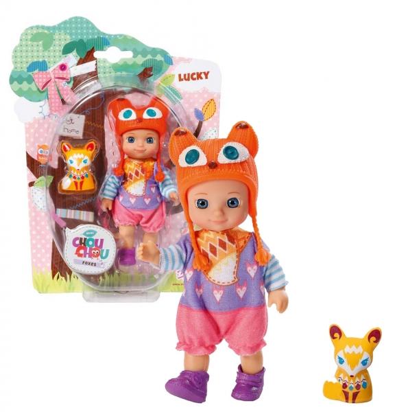 CHOU CHOU panenka mini Lištičky - LUCKY - 1 ks