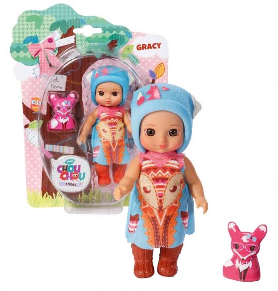 CHOU CHOU panenka mini Lištičky - GRACY - 1 ks