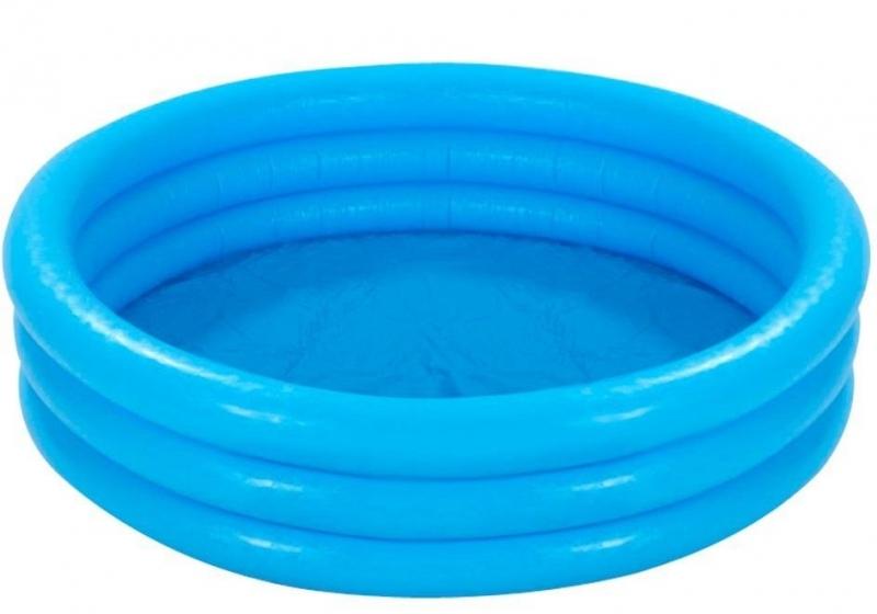 Nafukovací bazén modrý 168 x 38 cm