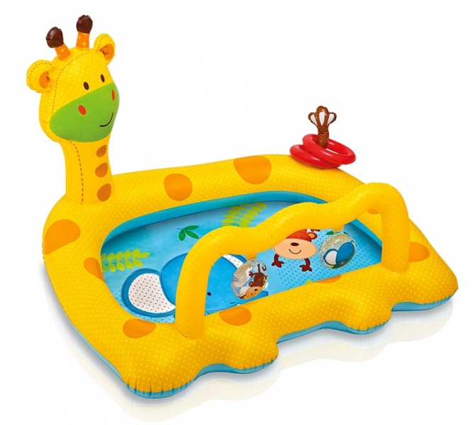 Nafukovací bazén žirafa, 112 x 92 x 72 cm (Nafukovací bazén žirafa, 112 x 92 x 72 - 1ks)