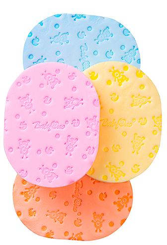 BabyOno Houbička na mytí - různé barvy - 1ks