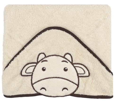 Luxusní osuška Baby Ono - HAPPY s kapucí