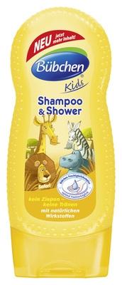 Bübchen dětský šampón a sprchový gel Safari -  230ml