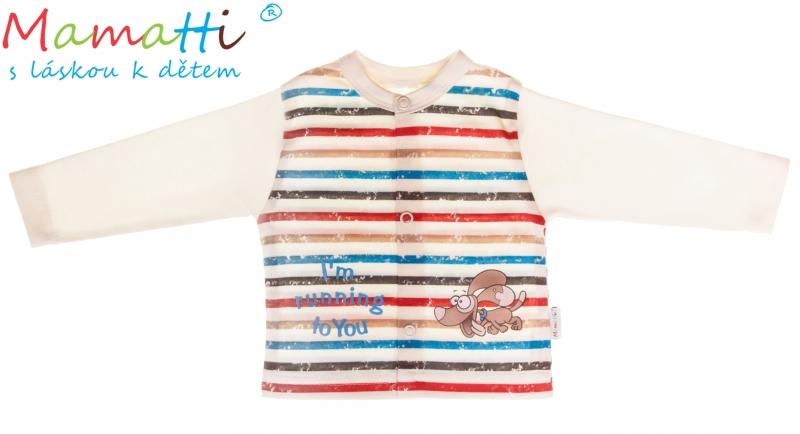 Bavlněná košilka Mamatti - PEJSEK