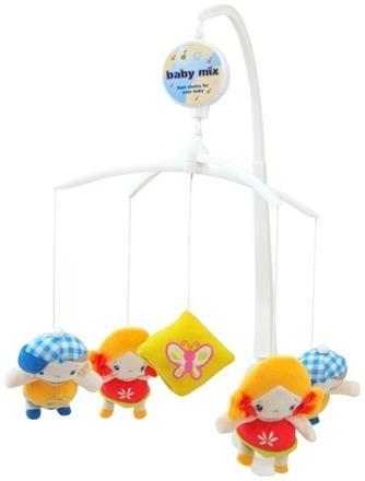 Kolotoč nad postýlku BABY MIX - Chlapeček a holčička