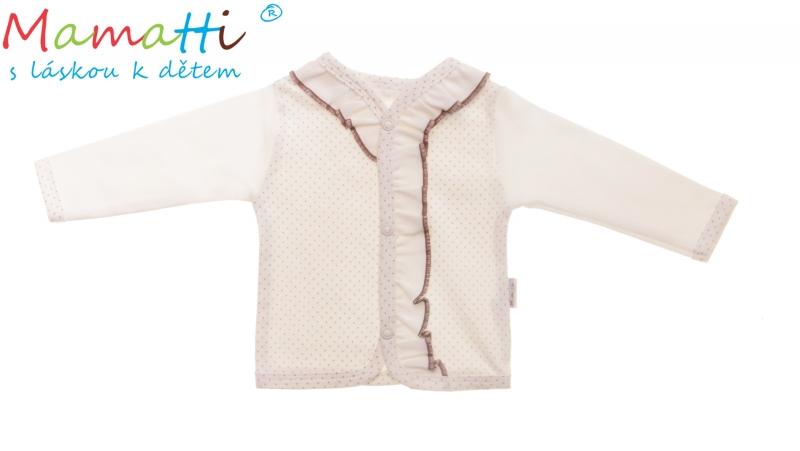 Bavlněná košilka Mamatti - BABY