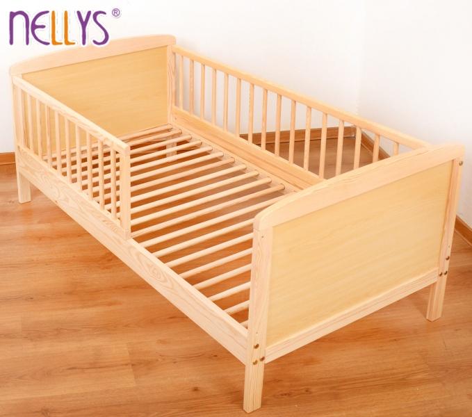 Dětská juniorská postel/postýlka Nellys - přírodní