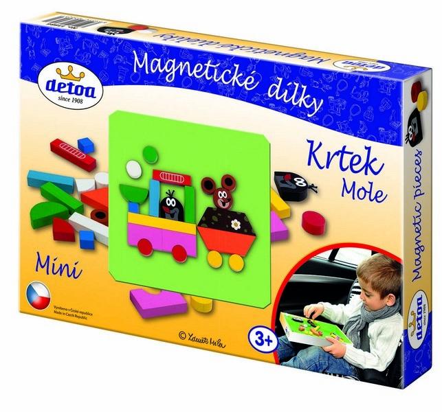 Dílky magnetické - Krtek mini