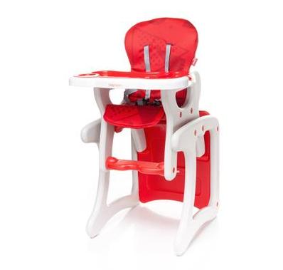 Jídelní stoleček 4 BABY FASHION - červený