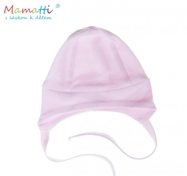 Čepička na zavazování Mamatti  - růžová