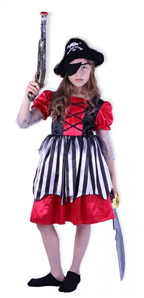 Karnevalový kostým pirátka, vel. S - Kostým pirátka, vel. S