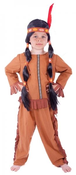 Karnevalový kostým indián se střapci e29528f606