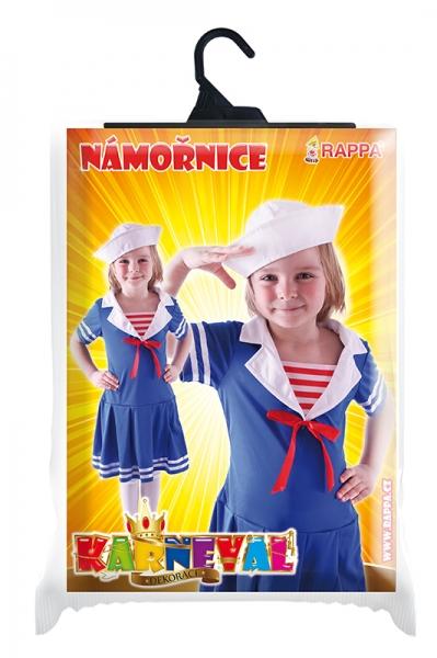 Dětský kostým Námořnice (S)
