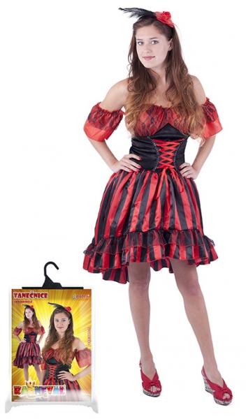 Karnevalový kostým tanečnice Sally, dospělý, vel. M - Kostým tanečnice Sally, dospělý, vel. M