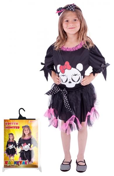 Karnevalový kostým slečna Monster, vel. S