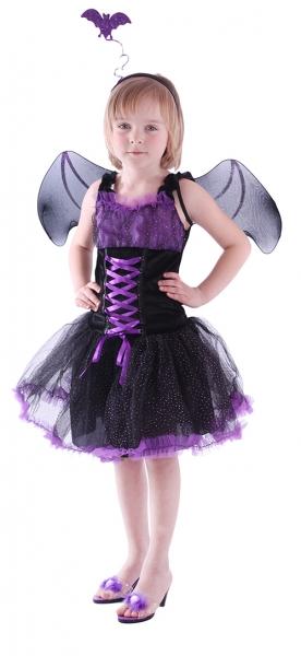 Karnevalový kostým netopýrka, vel. S