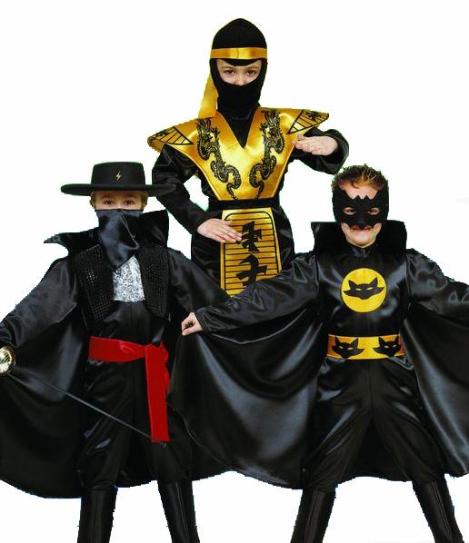 Karnevalový kostým bojovník 3 v 1, vel. S