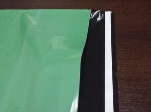 Plastová obálka - 24 x 35 +5 cm - ZELENÁ