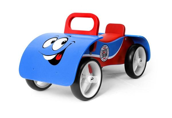 Odrážedlo Milly Mally Junior AUTO - modré (Milly Mally Junior Blue)