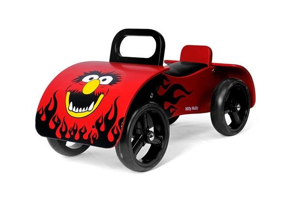 Odrážedlo Milly Mally Junior AUTO - červené (Milly Mally Junior RED)