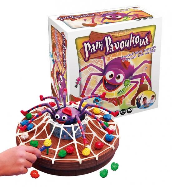 Hra Paní Pavouková