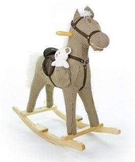 Houpací koník Milly Mally Mustang - kárko béžové