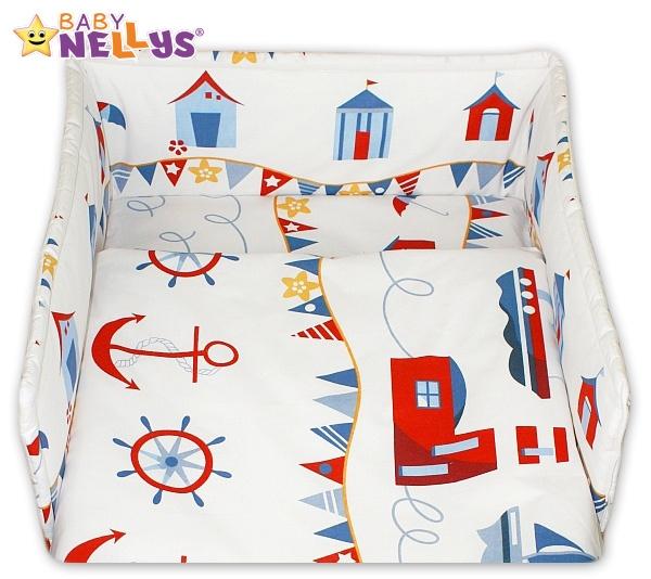 Mantinel s povlečením Baby Nellys ® - Námořník