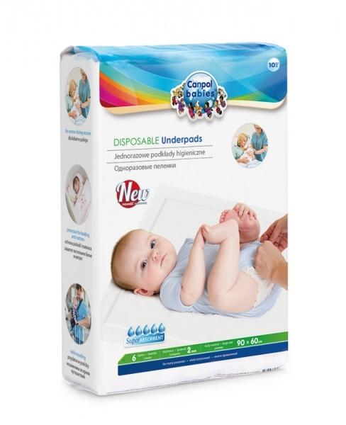 Přebalovací podložky CANPOL BABIES - 10ks