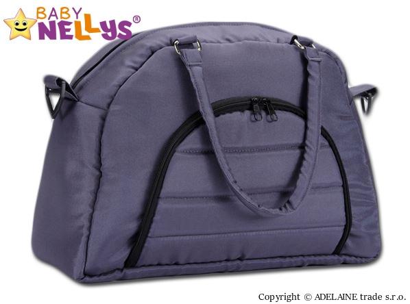 Taška na kočárek Baby Nellys ® ADELA LUX - grafit (Barva: grafitová, Baby Nellys ®)