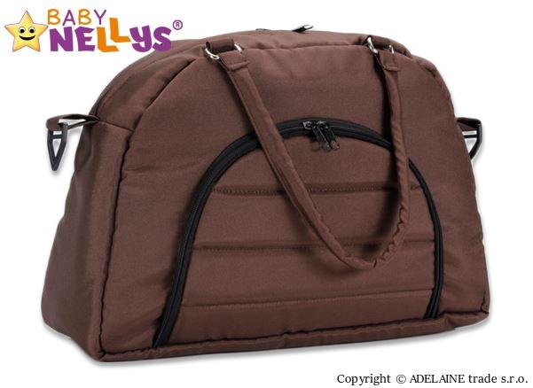Taška na kočárek Baby Nellys ® ADELA LUX - hnědá