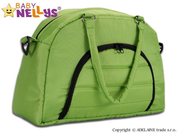 Taška na kočárek Baby Nellys ® ADELA LUX - zelená (Barva: zelená, Baby Nellys ®)