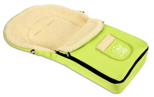 Multifunkční fusák Vlna 4v1 Baby Nellys ® - limeta