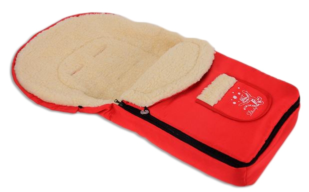 Multifunkční fusák Vlna 4v1 Baby Nellys ® - červený
