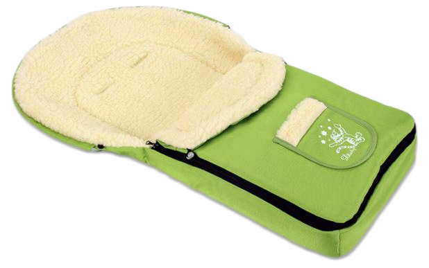 Multifunkční fusák VLNA 4v1 Baby Nellys ® - zelený