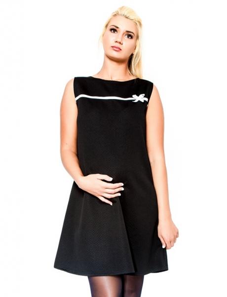 Be MaaMaa Těhotenské šaty/tunika DIOR - černé
