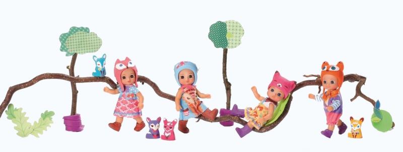CHOU CHOU panenka mini Lištičky