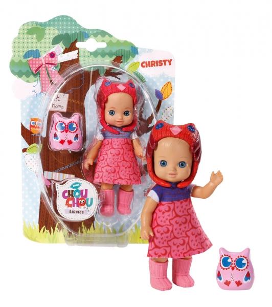 CHOU CHOU panenka mini Sovičky - CHRISTY - CHOU CHOU panenka mini Sovičky - CHRISTY - 1ks