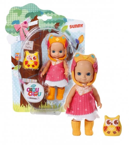CHOU CHOU panenka mini Sovičky - SUNNY - CHOU CHOU panenka mini Sovičky - SUNNY - 1ks
