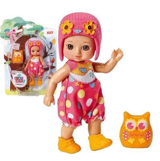 CHOU CHOU panenka mini Sovičky - ELLY - CHOU CHOU panenka mini Sovičky - ELLY - 1ks